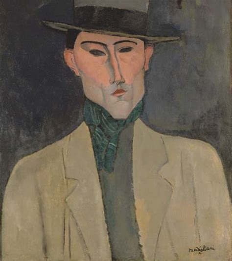 amedeo modigliani 1884 1920 the 382286319x amedeo modigliani 1884 1920 homme au chapeau christie s