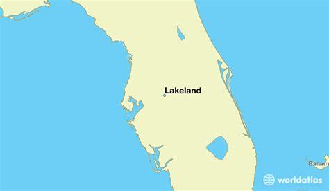 lakeland florida map where is lakeland fl lakeland florida map