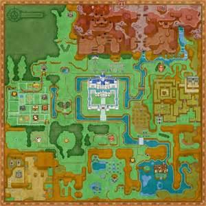 Link Between Worlds Map is that the master sword hidden in hyrule castle zelda