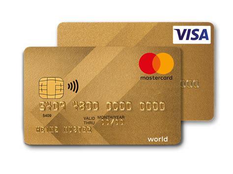 bank kredit karte visa mastercard gold kreditkarte viseca card services
