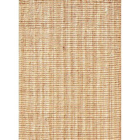 Jute Area Rugs 9x12 Jaipur Naturals Solid Pattern Ivory Taupe Jute Area Rug 9x12