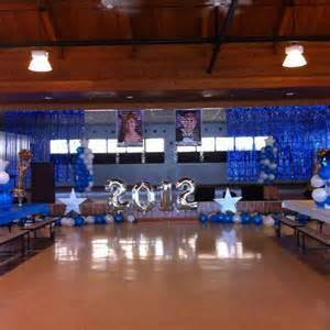 stage decor grade school graduation decor