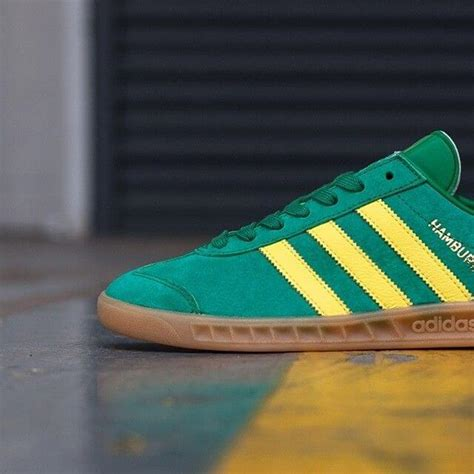 Adidas Hamburg 01 adidas originals hamburg green the sole supplier