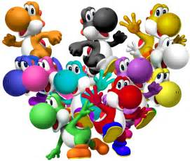 yoshi colors yoshi species pictures and so