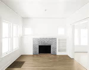 room fireplace empty room two rooms gray fireplace light br by