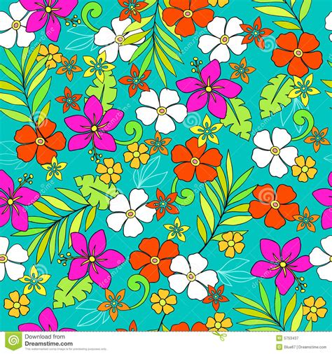 pattern tropical vector tropical seamless repeat pattern vector stock vector