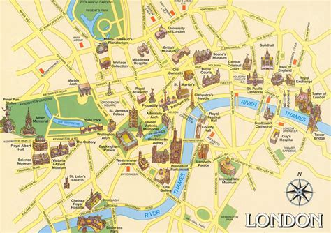 sightseeing map maps guide