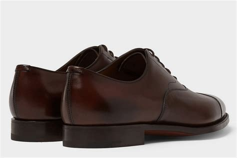 chelsea oxford shoes edward green chelsea leather oxford shoes clad