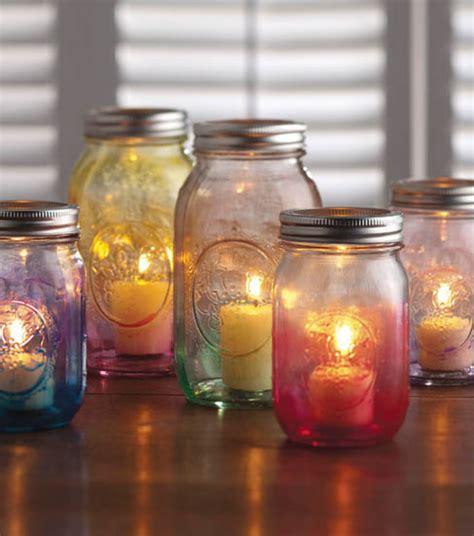 diy decorations candle jars jar crafts create a diy candle holder using