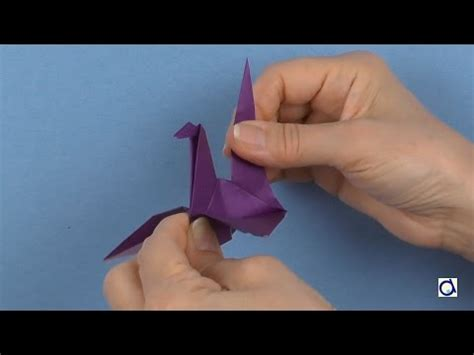 Origami Swan With Flapping Wings - how to make a paper swan origami flapping wings from