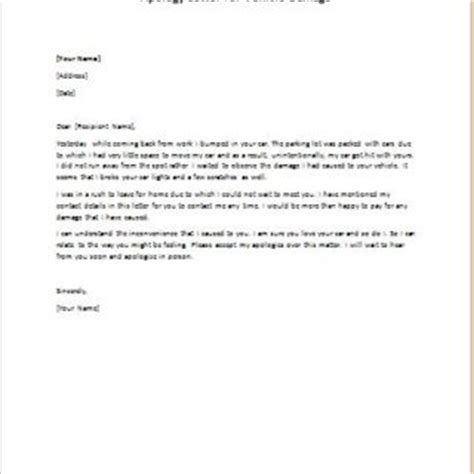 Apology Letter Lost Item Apology Letters Writeletter2