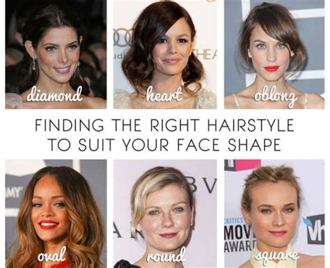 Finding The Right Hairstyle To Fit Your Face | find the best women s hairstyle for your face shape