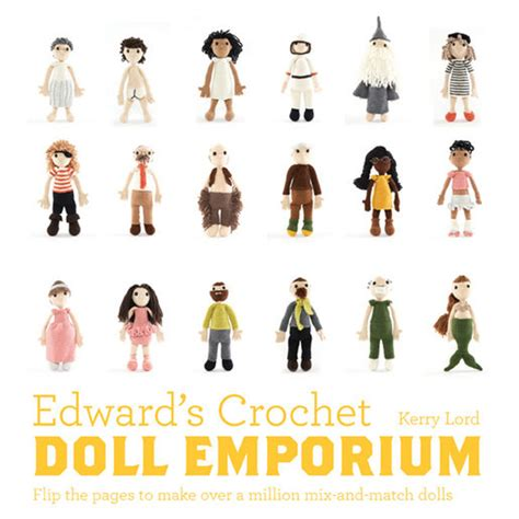 doll emporium pattern company edward s crochet doll emporium by kerry lord wild and woolly