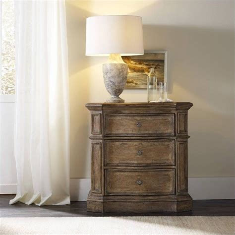 Light Oak Nightstand Furniture Solana 3 Drawer Nightstand In Light Oak 5291 90016