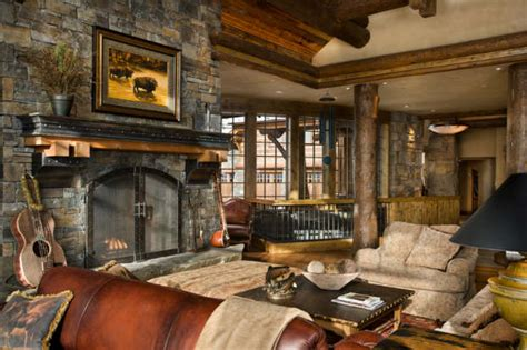 Rustic Home Interior Designs by 40 Awesome Rustic Living Room Decorating Ideas Decoholic