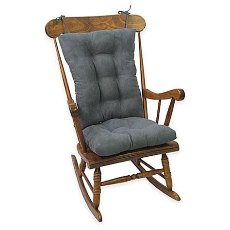 wide rocking chair cushions klear vu twillo universal large 2 rocking