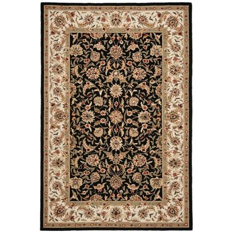 Safavieh Chelsea Black 6 Ft X 9 Ft Area Rug Hk78a 6 Rugs 6 Ft
