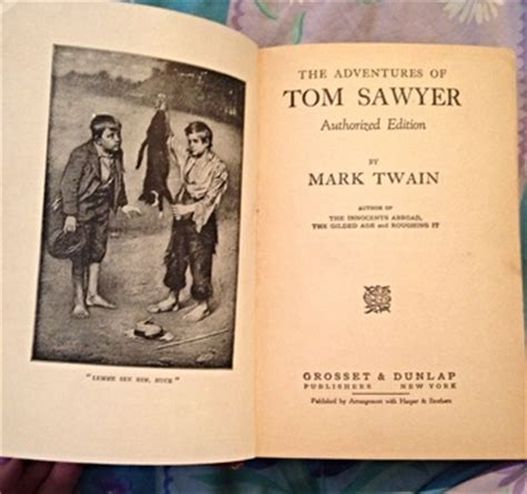 book report on tom sawyer the adventures of tom sawyer by collectors weekly