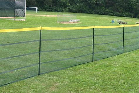 portable fence poles for grand slam portable fence