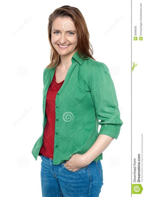 middle age trendy clothing gorgeous middle aged woman in trendy clothes royalty free