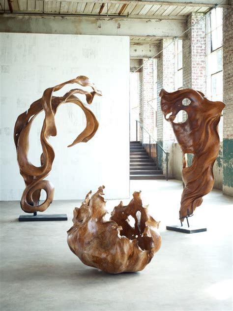 Chinese Screens Room Dividers - carved root sculptures modern artwork raleigh by phillips collection