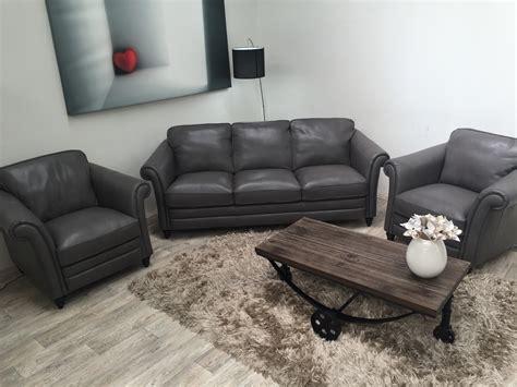 Natuzzi Sofa Warranty by Natuzzi Editions Riccardo B977 3 Seater 2 Chairs Grey