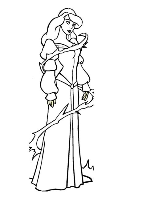 the swan princess odette coloring pages ideas