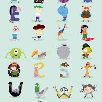 Disney Character Letter X disney character names a z adultcartoon co