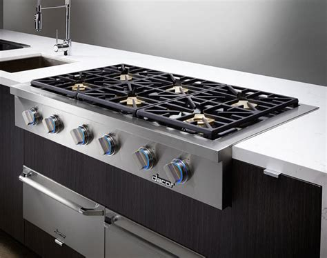 dacor dyrtp486slp 48 inch gas rangetop with 6 sealed - Best Cooktop Ranges