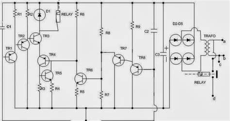 rangkaian kapasitor pada pompa air electro zone skema rangkaian saklar otomatis pompa air