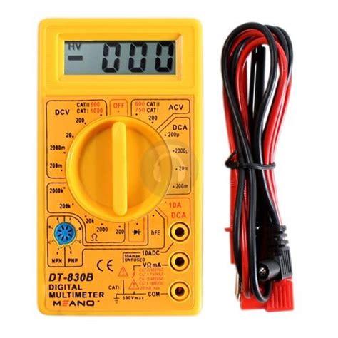 Multimeter Digital Dt830b duratool digital multimeter