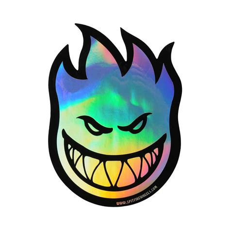 Sticker Small spitfire bighead prism stickers medium instore at