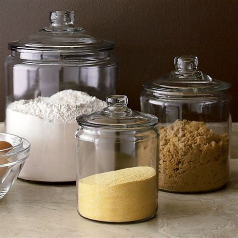 storage jars kitchen best 25 glass containers with lids ideas on