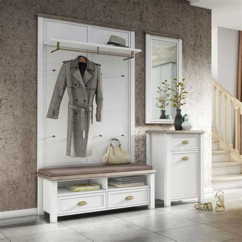 garderobe im landhausstil garderoben set levitana im landhausstil 4 teilig flur