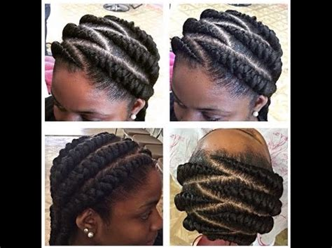large cornrow hairstyles tutorial big cornrows youtube