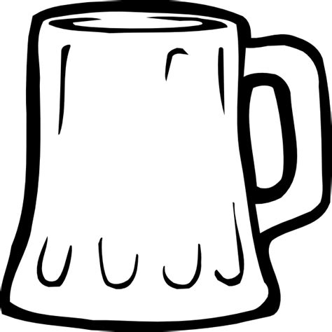 beer cartoon black and white cup clipart black and white free download best cup