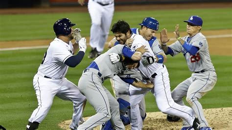 bench clearing baseball dodgers vs padres brawl carlos quentin charges zack