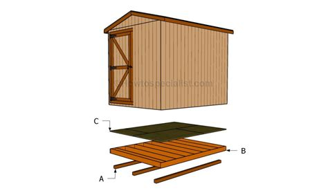 how to build floor how to build a shed floor howtospecialist how to build