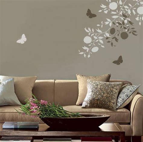 living room wall paint stencils 8 tricks to decorating on a budget emerald interiors