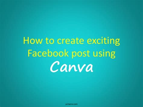 canva login with facebook how to creat exciting facebook image post using canva