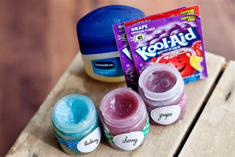 Lipgloss Vaseline diy kool aid lip gloss bigdiyideas