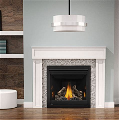 napoleon ascent gx36ntr direct vent gas fireplace by