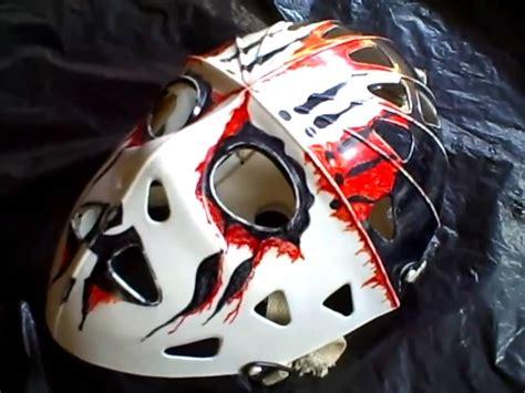 Masker Airbrush the best goalie mask