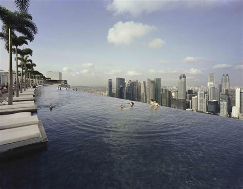 Infinity Pool In Singapore Marina Bay Sands Skypark An Iconic Singapore Destination