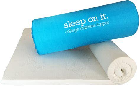College Mattress by Sleep On It College Mattress Topper