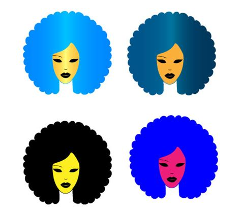 afro hairstyles vector afro clipart clipart panda free clipart images