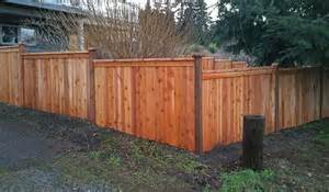 step down fence in steilacoom ajb landscaping amp fence