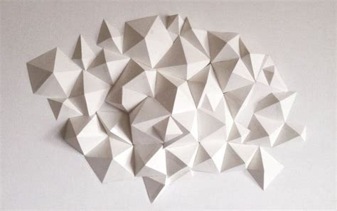 3d Geometric Origami - 449 best images about ceramic wall on