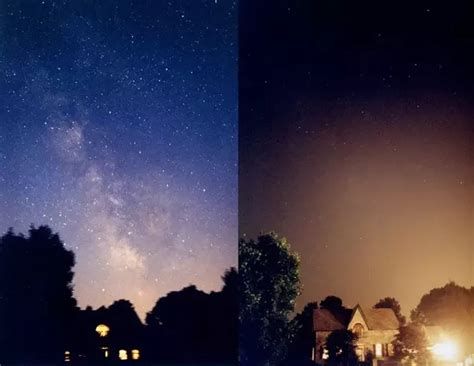 Sky Without Light Pollution by What Does The Sky Look Like Without Light Pollution