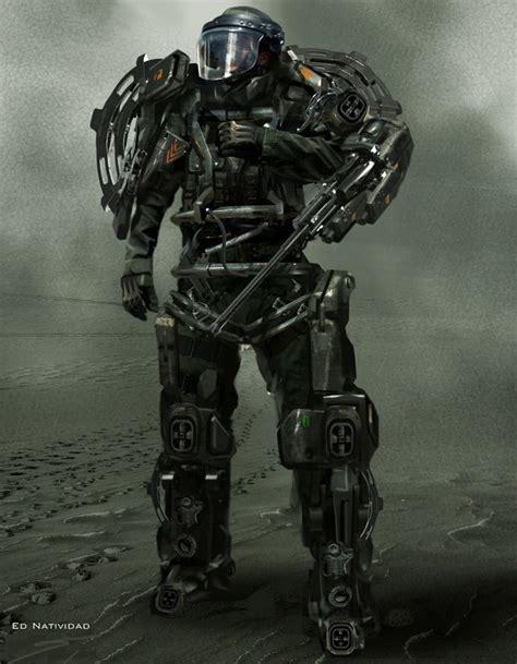 Future Warrior future warrior future soldier futuristic cyberpunk